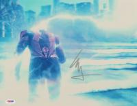 "Ezra Miller Signed ""Justice League"" 11x14 Photo (PSA COA) at PristineAuction.com"