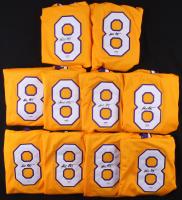 Lot of (10) Kobe Bryant Signed Jerseys (PSA COA) at PristineAuction.com