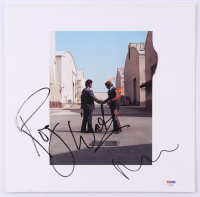 "Roger Waters & Nick Mason Signed Pink Floyd ""Wish You Were Here"" Vinyl Record Album Cover (PSA LOA) at PristineAuction.com"