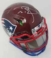 Tom Brady Signed New England Patriots Limited Edition Full-Size Authentic On-Field Hydro-Dipped Speed Helmet with Visor (TriStar Hologram & Steiner Hologram)