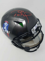 Tom Brady Signed New England Patriots Limited Edition Throwback Full-Size Authentic On-Field Hydro-Dipped Speed Helmet with Visor (TriStar Hologram & Steiner Hologram) at PristineAuction.com
