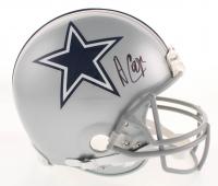 Amari Cooper Signed Dallas Cowboys Full-Size Authentic On-Field Helmet (Beckett COA)