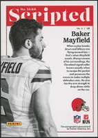 2018 Panini Encased Scripted Signatures Emerald #SSBM Baker Mayfield at PristineAuction.com