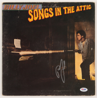 "Billy Joel Signed ""Songs in the Attic"" Vinyl Album Cover (PSA COA) at PristineAuction.com"