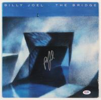 "Billy Joel Signed ""The Bridge"" Vinyl Album Cover (PSA COA) at PristineAuction.com"