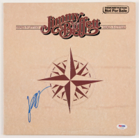 "Jimmy Buffett Signed ""Changes in Latitudes, Changes in Attitudes"" Vinyl Record Album Cover (PSA COA) at PristineAuction.com"
