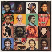 "Pete Townshend & Roger Daltrey Signed The Who ""Face Dances"" Vinyl Record Album Cover (PSA COA) at PristineAuction.com"