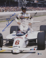 "Mario Andretti Signed 8x10 Photo Inscribed ""All The Best"" (Beckett COA)"