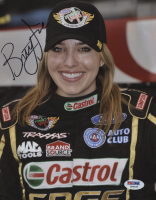 Brittany Force Signed 8x10 Photo (PSA COA)