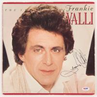 "Frankie Valli Signed ""The Very Best of Frankie Valli"" Vinyl Record Album Cover (PSA COA) at PristineAuction.com"