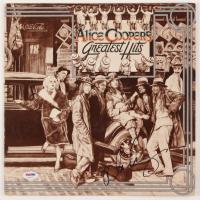 "Alice Cooper Signed ""Alice Cooper's Greatest Hits"" Vinyl Album Cover (PSA COA) at PristineAuction.com"
