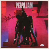 "Eddie Vedder Signed Pearl Jam ""Ten"" Vinyl Record Album Cover (PSA LOA) at PristineAuction.com"