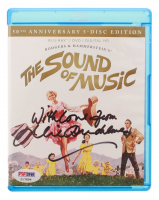 "Julie Andrews Signed ""The Sound of Music"" 50th Anniversary Blu-Ray DVD Inscribed ""With Love From"" (PSA Hologram) at PristineAuction.com"