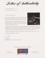 "Roger Waters & Nick Mason Signed Pink Floyd ""The Dark Side of the Moon"" Vinyl Record Album Cover (PSA LOA) at PristineAuction.com"