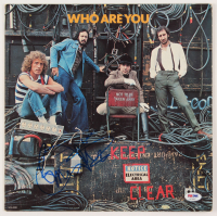 "Pete Townshend & Roger Daltrey Signed The Who ""Who Are You"" Vinyl Record Album Cover (PSA COA) at PristineAuction.com"