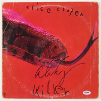 "Alice Cooper Signed ""Killer"" Vinyl Album Cover (PSA COA) at PristineAuction.com"