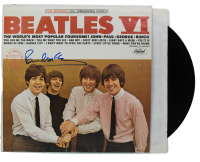 "Paul McCartney Signed The Beatles ""Beatles VI"" Vinyl Record Album (JSA LOA & REAL LOA)"
