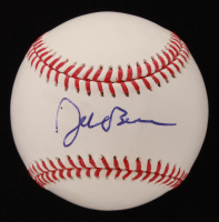 Jeb Bush Signed OML Hall of Fame Logo Baseball (PSA COA)