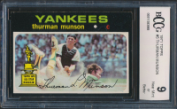 1971 Topps #5 Thurman Munson (BCCG 9) at PristineAuction.com