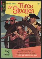 "Vintage 1967 ""The Three Stooges"" Issue #33 Gold Key Comic Book"