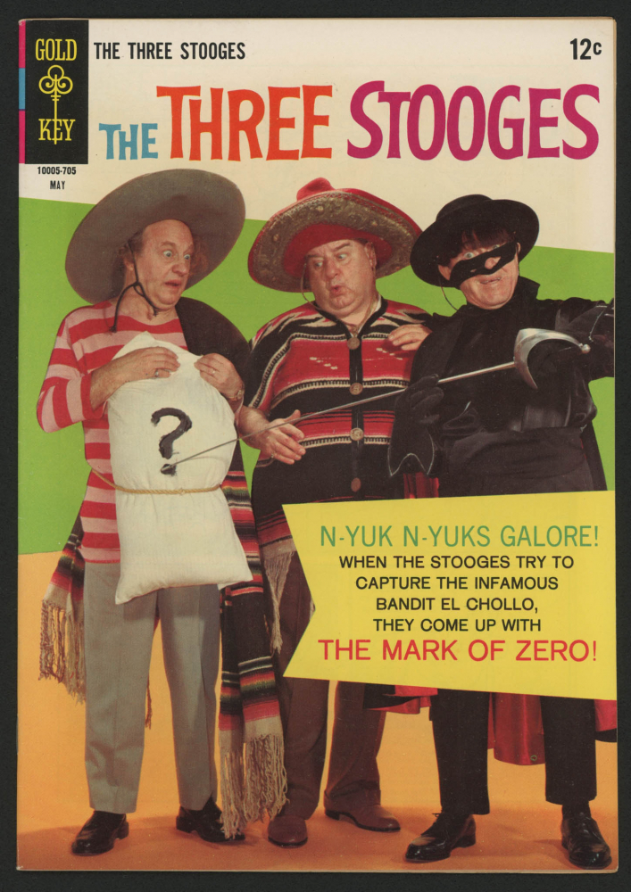 """Vintage 1967 """"The Three Stooges"""" Issue #34 Gold Key Comic Book at PristineAuction.com"""