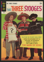 "Vintage 1967 ""The Three Stooges"" Issue #34 Gold Key Comic Book"