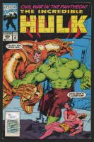 "Stan Lee Signed 1993 ""The Incredible Hulk"" Issue #405 Marvel Comic Book (JSA COA & Lee Hologram)"