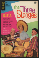 "Vintage 1969 ""The Three Stooges"" Issue #42 Gold Key Comic Book"