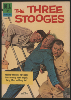 "Vintage 1962 ""The Three Stooges"" Issue #9 Dell Comic Book"