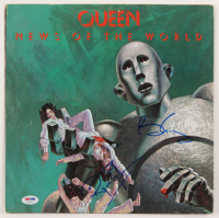 "Brian May & Roger Taylor Signed Queen ""News of the World"" Vinyl Record Album Cover (PSA COA) at PristineAuction.com"