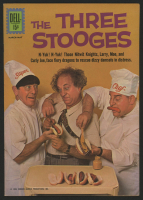 "Vintage 1962 ""The Three Stooges"" Issue #8 Dell Comic Book"