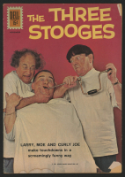 "Vintage 1961 ""The Three Stooges"" Issue #6 Dell Comic Book"