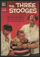 "Vintage 1960 ""The Three Stooges"" Issue #1127 Dell Comic Book"