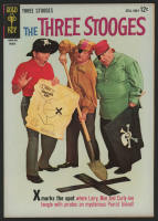 "Vintage 1964 ""The Three Stooges"" Issue #16 Gold Key Comic Book"