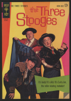 "Vintage 1963 ""The Three Stooges"" Issue #14 Gold Key Comic Book"