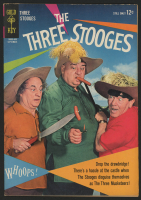 "Vintage 1964 ""The Three Stooges"" Issue #19 Gold Key Comic Book"
