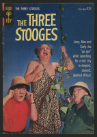 "Vintage 1964 ""The Three Stooges"" Issue #18 Gold Key Comic Book"