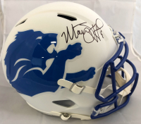 Matthew Stafford Signed Detroit Lions Full-Size AMP Alternate Speed Helmet (Fanatics Hologram)