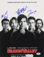 "Kumail Nanjiani, Thomas Middleditch & Zach Woods Signed ""Silicon Valley"" 11x14 Photo (PSA LOA) at PristineAuction.com"