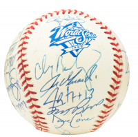 1999 New York Yankees World Series Baseball Team-Signed by (31) with Derek Jeter, Mariano Rivera, Roger Clemens, Joe Torre (Beckett LOA) at PristineAuction.com