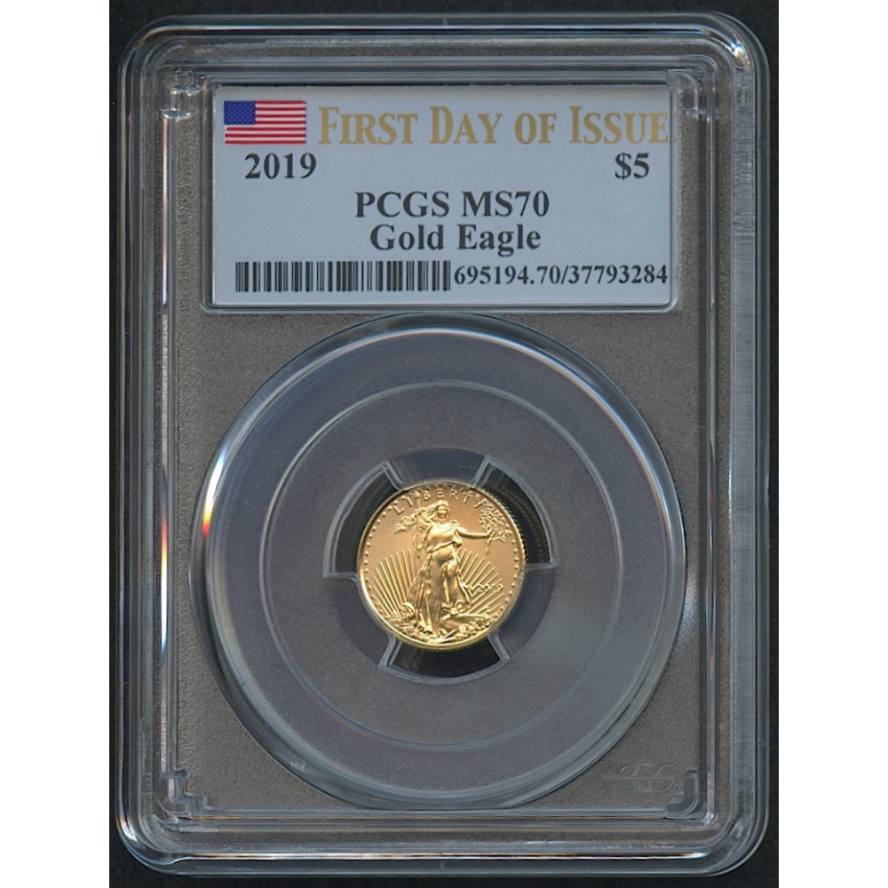 5 Five Dollars American Gold Eagle
