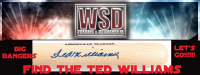 WSD Baseball Bat Box Mystery Box - Find the Ted Williams!