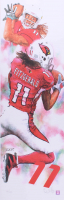 "Ed West Signed LE ""Larry Fitzgerald"" 11.75x36 Lithograph (PA LOA)"