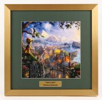 "Thomas Kinkade Walt Disney's ""Pinocchio"" 17.5x18 Custom Framed Print Display"