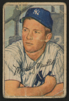 1952 Bowman #101 Mickey Mantle at PristineAuction.com