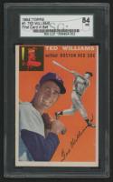 1954 Topps #1 Ted Williams (SGC 7) at PristineAuction.com