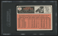 1966 Topps #100 Sandy Koufax (SGC 9) at PristineAuction.com