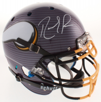 Randy Moss Signed Minnesota Vikings Full-Size Authentic On-Field Hydro-Dipped Helmet (JSA COA)