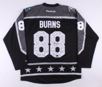 Brent Burns Signed 2017 NHL All-Star Jersey (Burns COA) at PristineAuction.com