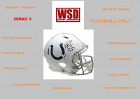 WSD Full Size Helmet Mystery Box Series 3 - Autographed Football Helmet Series #/50